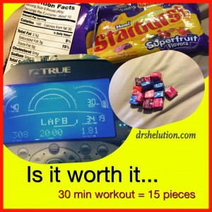 Food Calories: Starburst