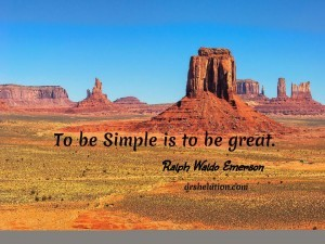 Quotes: To Be Simple