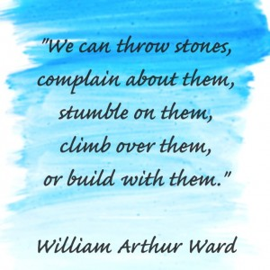 Quotes: Throw Stones