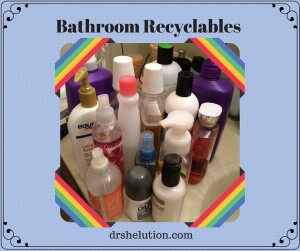 Bathroom Recyclables