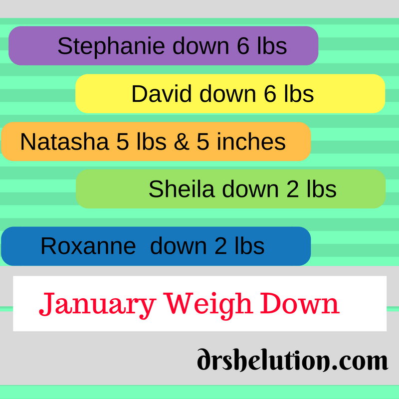 January weigh down