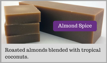 Homemade Almond Spice Soap