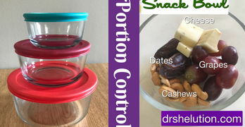 Portion Control – DIY Snack Bowl