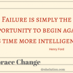 Failure Quote: Opportunity to start over